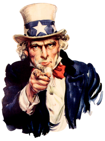 Uncle Sam I Want You PNG - 84838