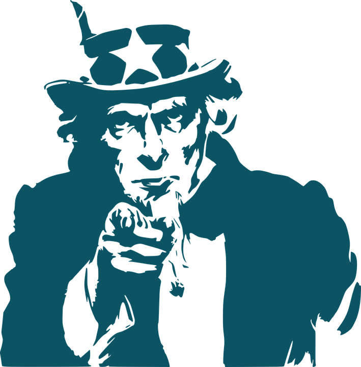 Uncle Sam, Hat, Stars, Usa, America, Uncle Sam Hat - Uncle Sam I Want You PNG