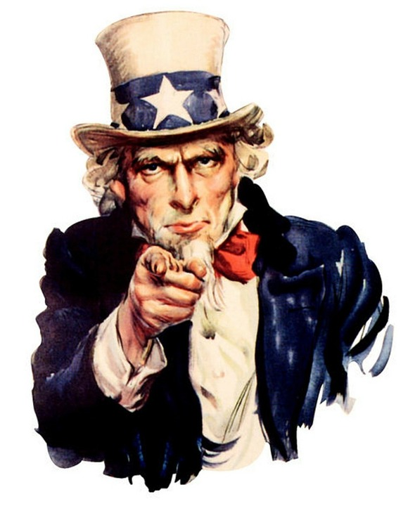 Uncle Sam I Want You PNG - 84849