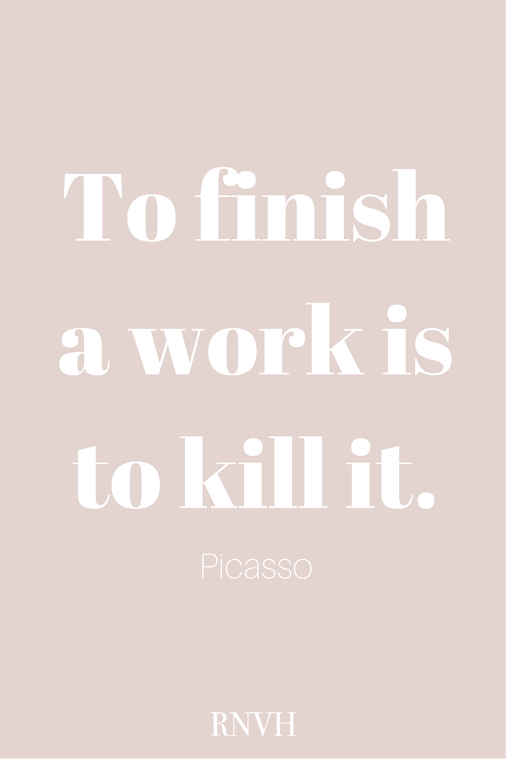 The Beauty Of Unfinished Work - To Finish A Work Is To Kill It - Unfinished Work PNG