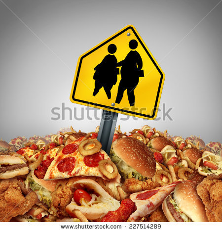 Children diet problems and obesity crisis in the school concept as a heap  of unhealthy fast - Unhealthy Foods For Kids PNG