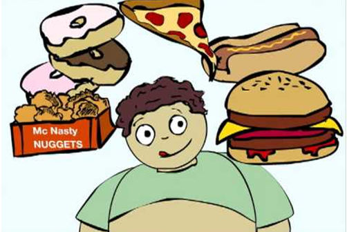 Easy tips to discourage kids from eating junk food - Unhealthy Foods For Kids PNG