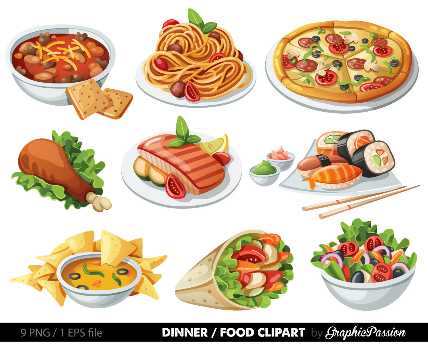 Food Clipart - Unhealthy Foods For Kids PNG