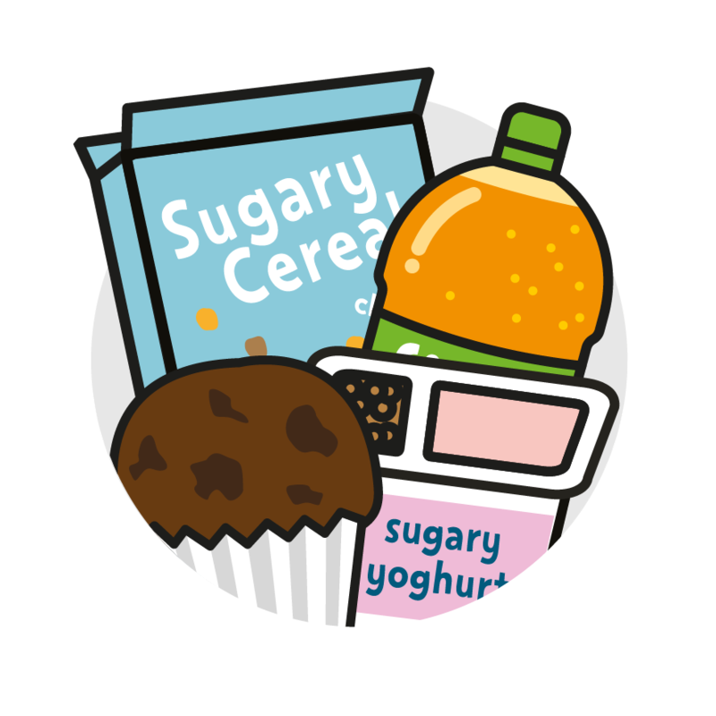 Unhealthy Foods For Kids PNG - 82089