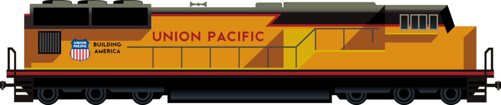 Union Pacific Vector PNG - 29689