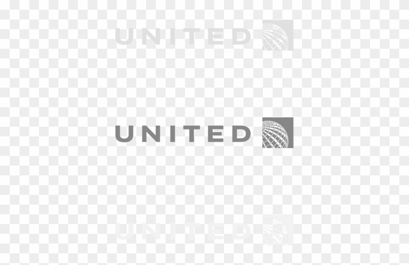 """United Airlines - """" - Monochrome, Hd Png Download - 520x600 Pluspng.com  - United Airlines Logo PNG"""