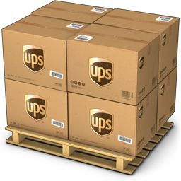 UPS pallet icon - United Parcel Service PNG