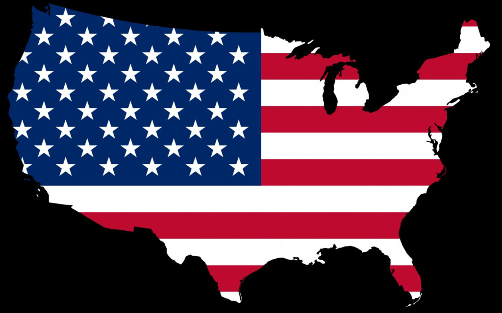Usa Flag Vector - United States Of America PNG HD