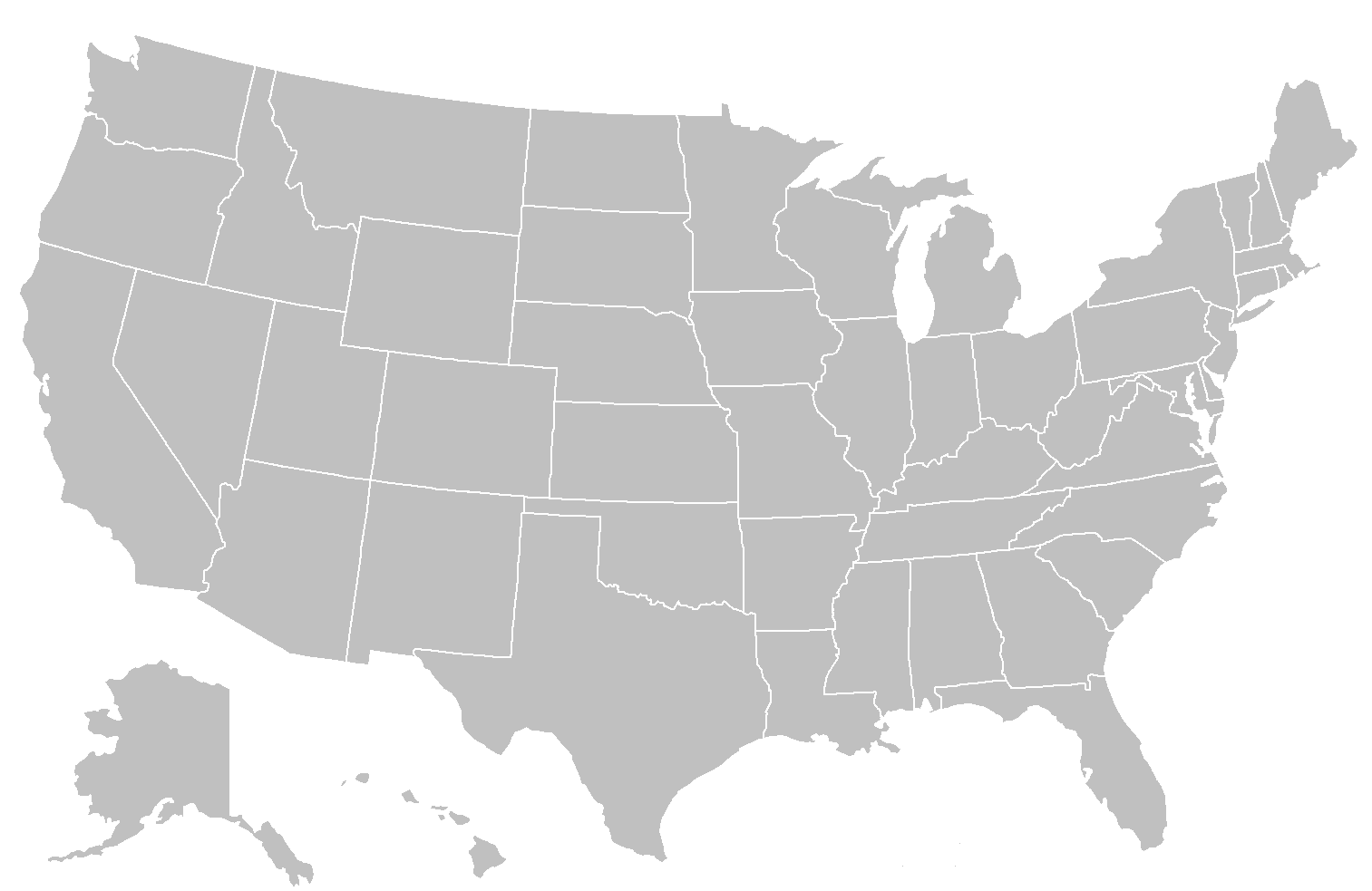 File:BlankMap-USA-states.PNG - United States PNG