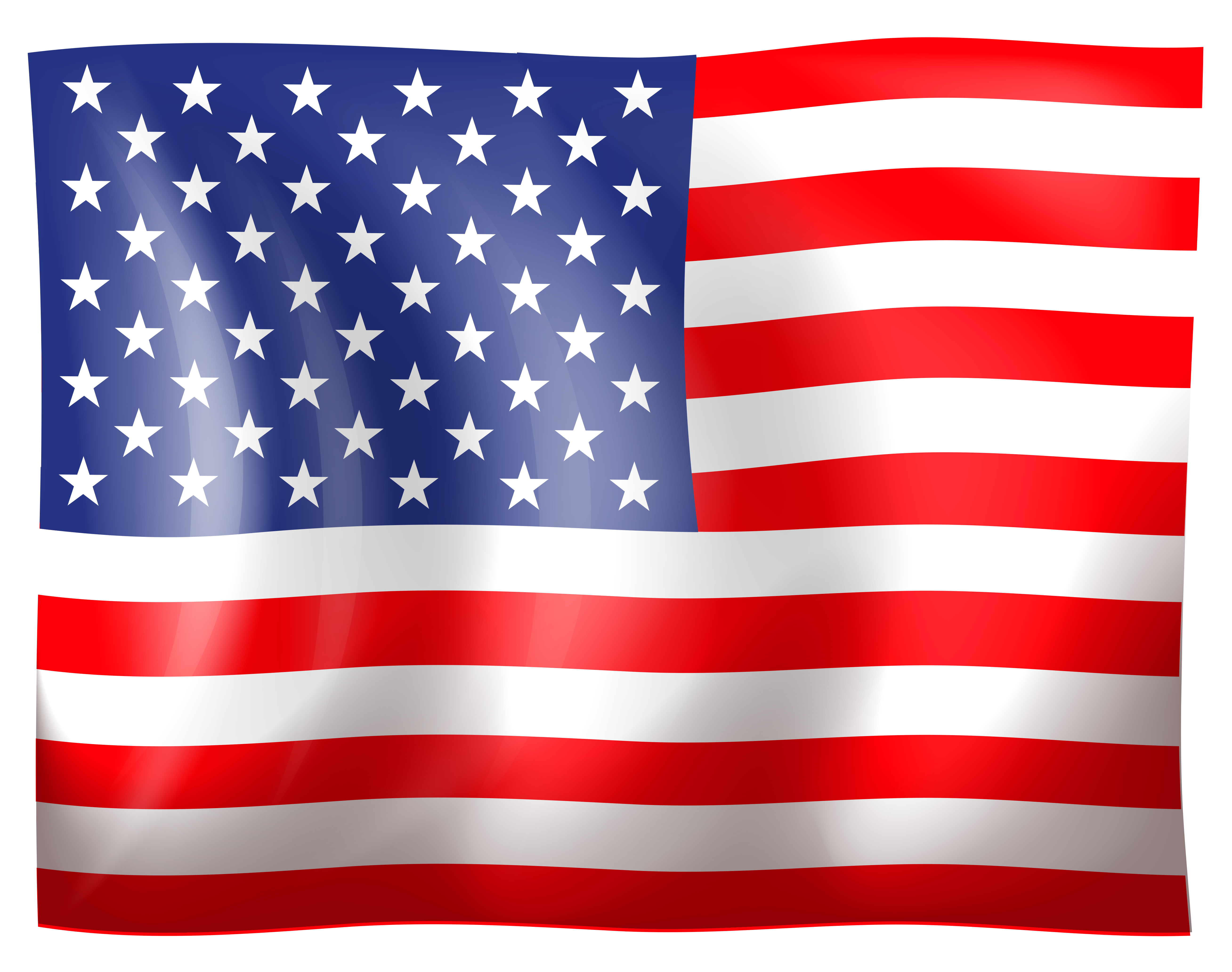 United States clipart american flag #15 - United States PNG HD