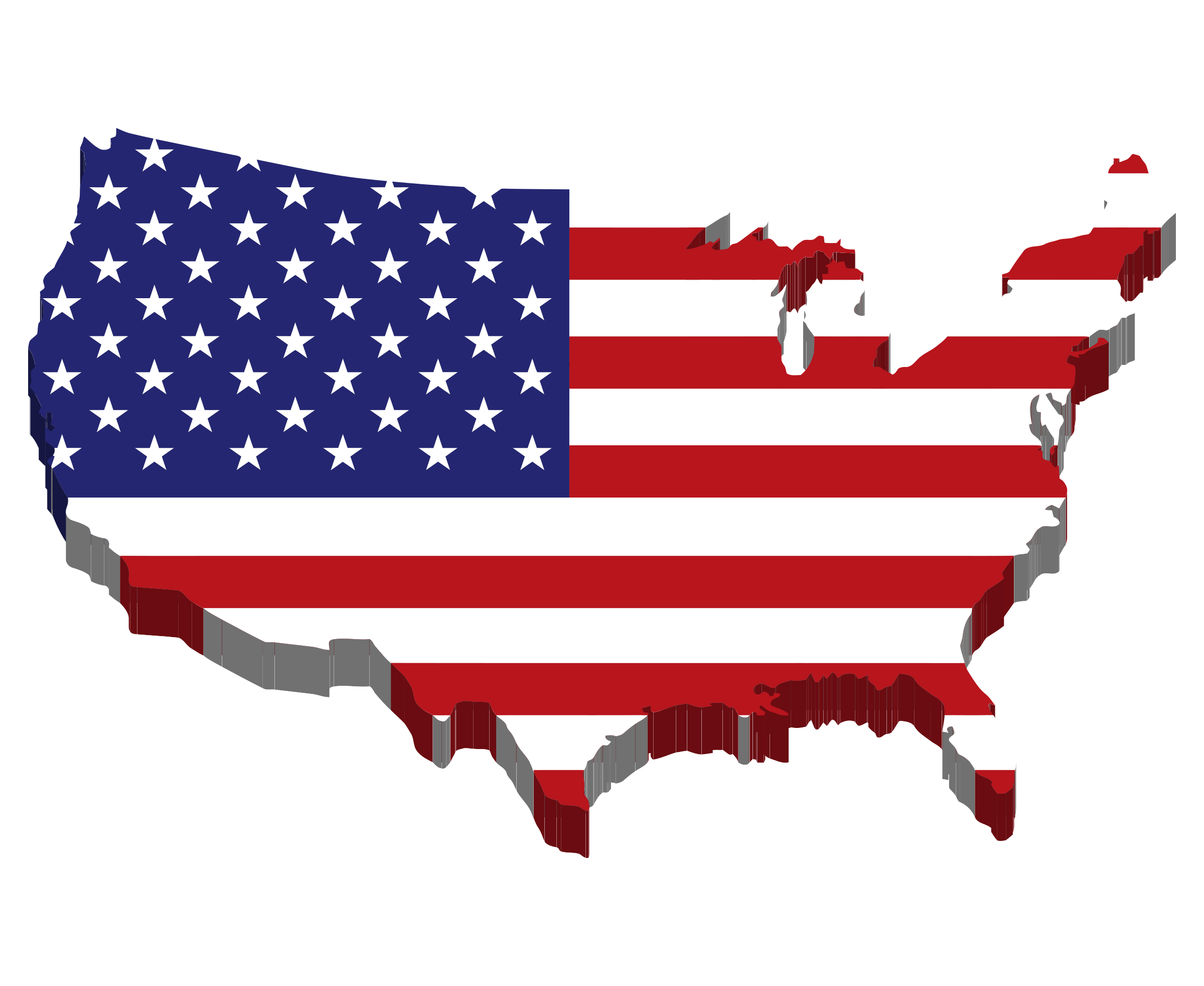 USA clipart state hd #4 - United States PNG HD