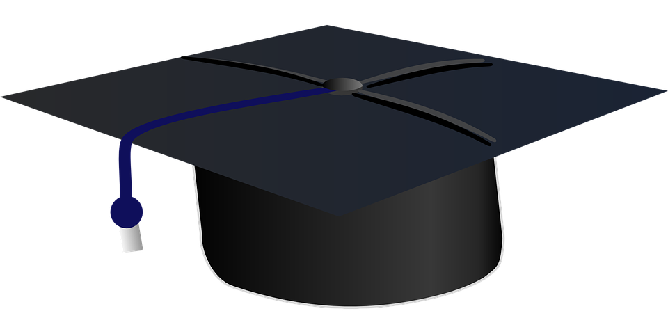 Graduation, Hat, University, Education, College, School - University PNG