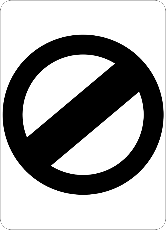 File:Northern Territory unlimited speed limit sign.png - Unlimited PNG