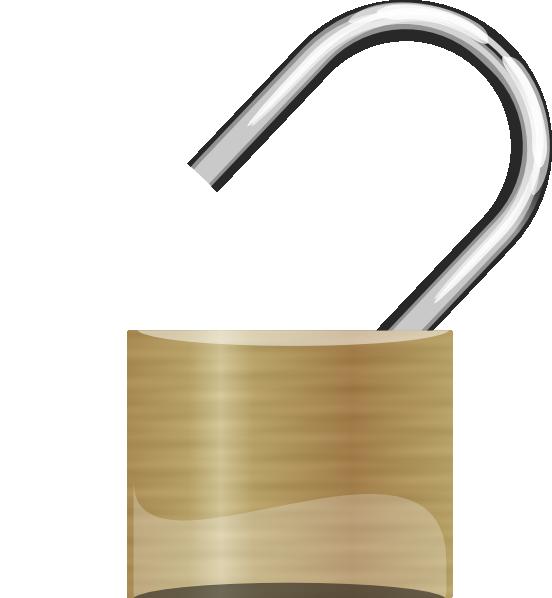 Unlocked Padlock PNG - 80305