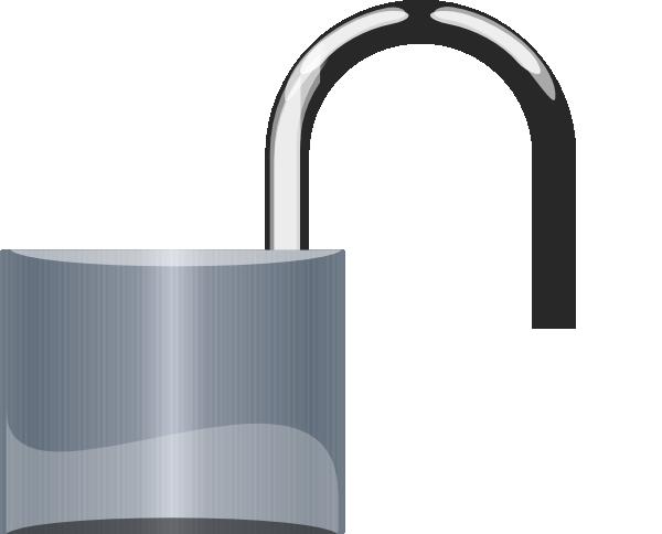 Unlocked Padlock PNG - 80320