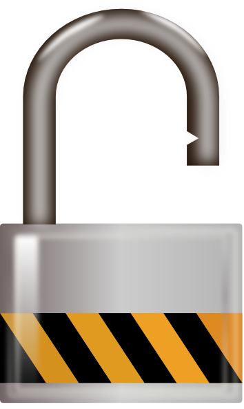 Unlocked Padlock PNG - 80317