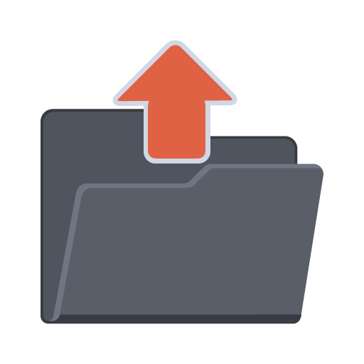 Upload Folder, Document, File, Upload, Upload Document Icon image #43257 - Upload Button PNG