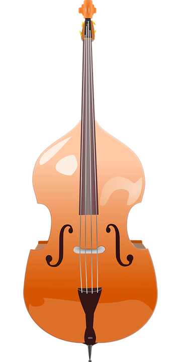 Upright Bass PNG - 80421