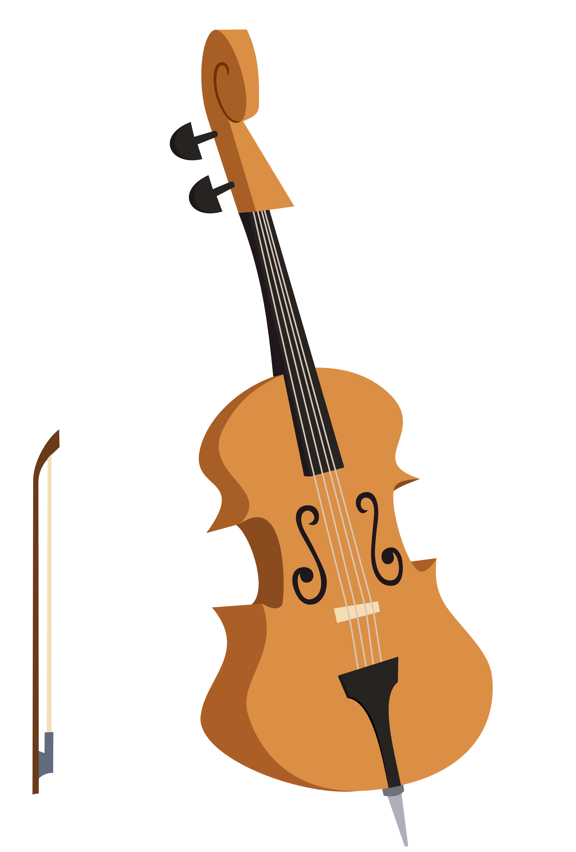 Upright Bass PNG - 80417