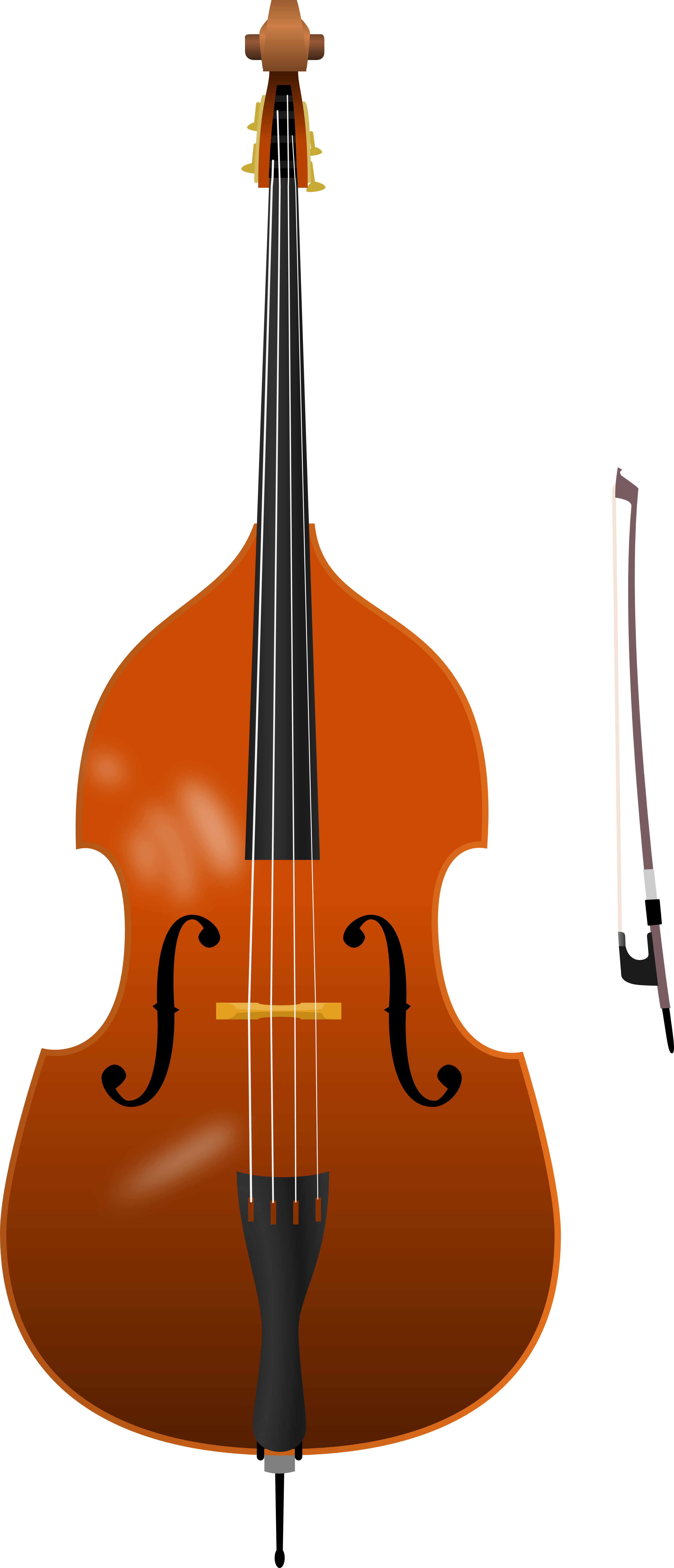 Upright Bass PNG - 80411