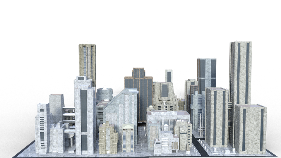 Urban City PNG - 81794