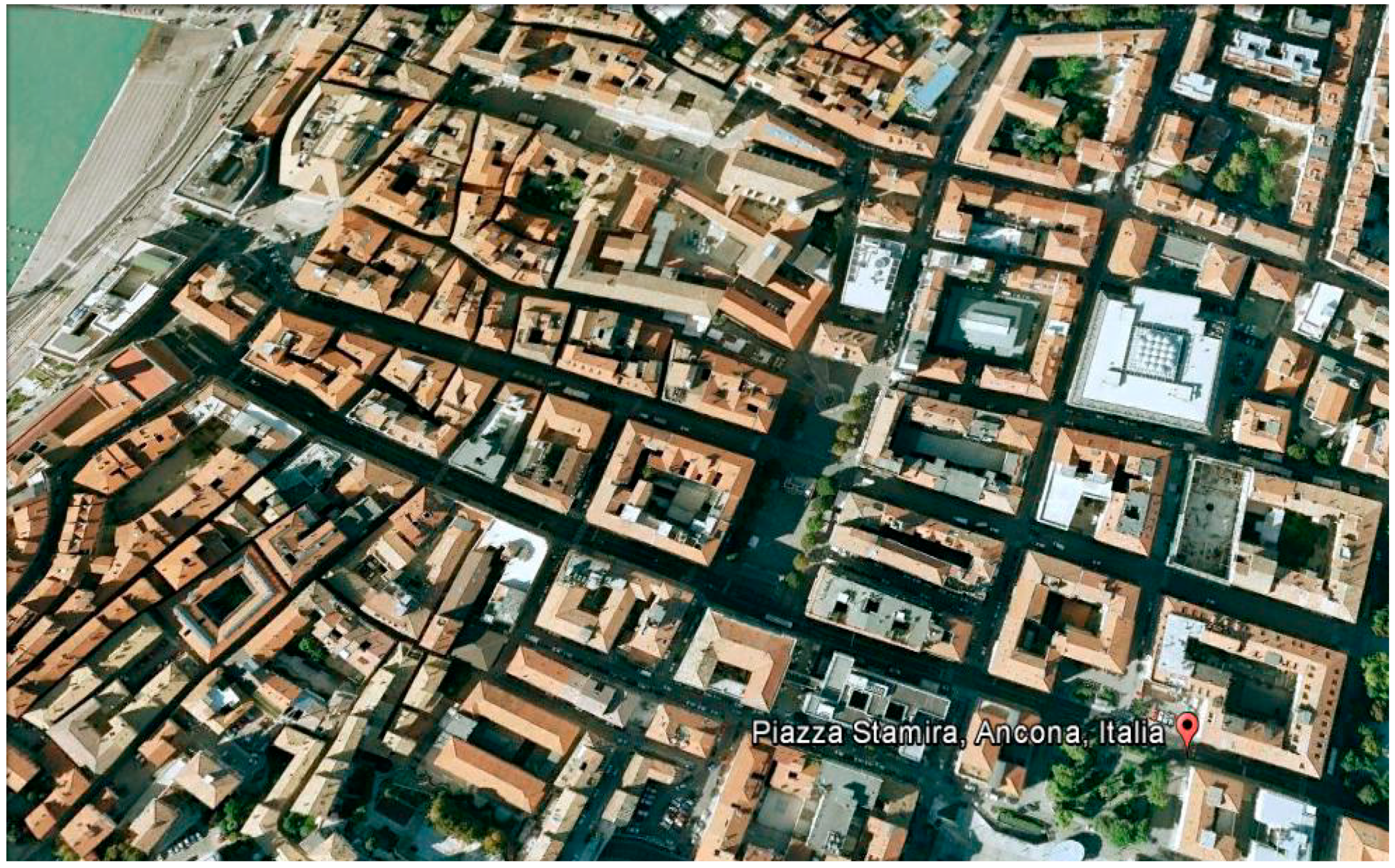 Sustainability | Free Full-Text | A Parametric Optimization Approach to  Mitigating the Urban Heat Island Effect: A Case Study in Ancona, Italy |  HTML - Urban Settlement PNG