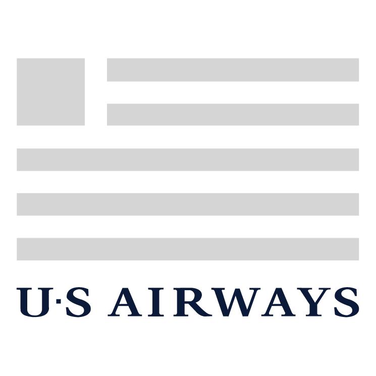 Free Vector Us Airways 1 - Us Airways Logo Vector PNG