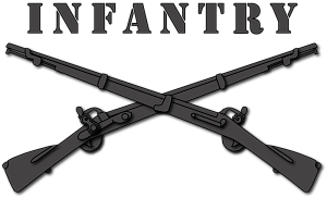 Army - Infantry Br - Crossed Rifles - Us Army Infantry Crossed Rifles PNG