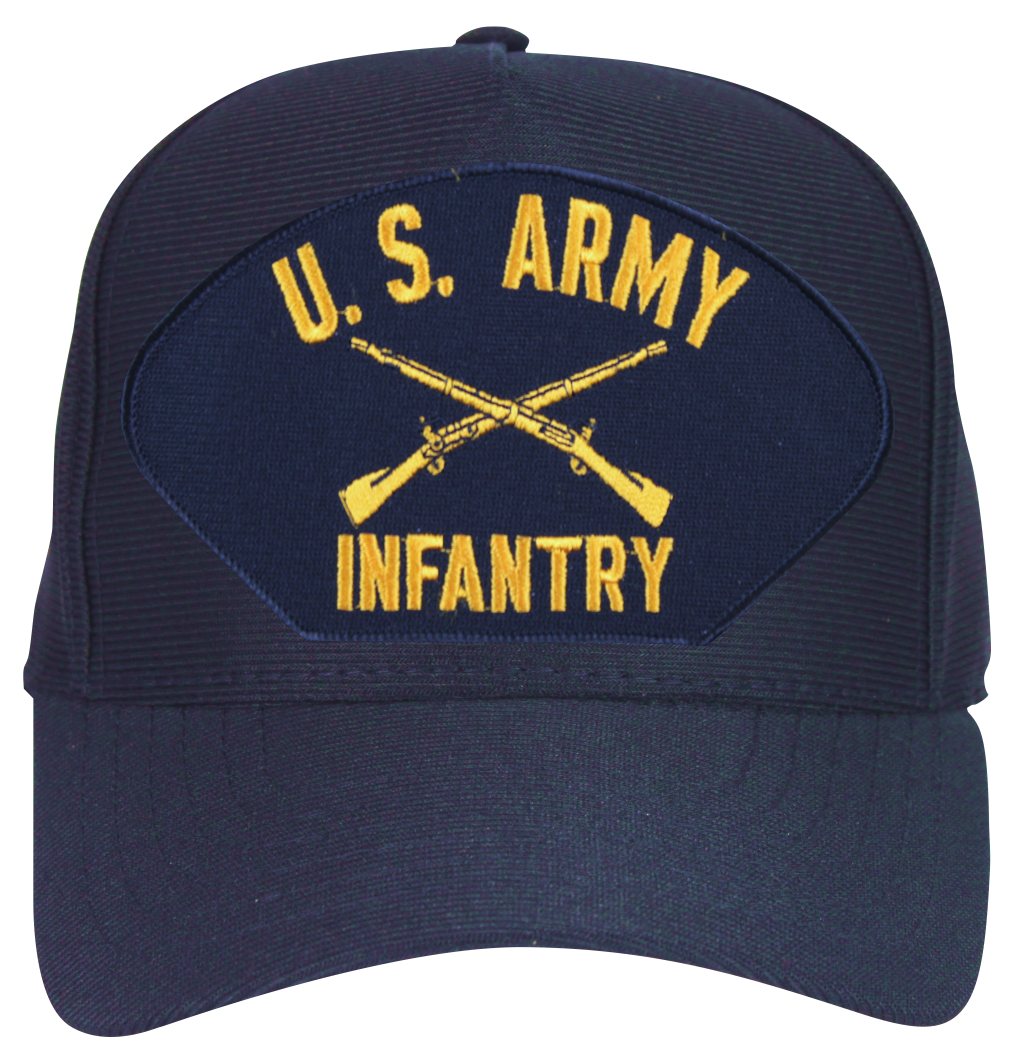 U.S. Army Infantry with Crossed Rifles Ball Cap - Us Army Infantry Crossed Rifles PNG