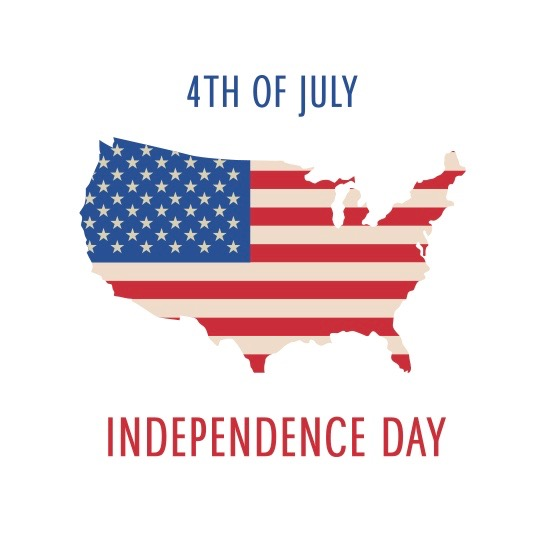 4th-of-july-independence-day-poster-with-usa-map-and-flag-vector Pluspng.com  - Us Independence Day PNG