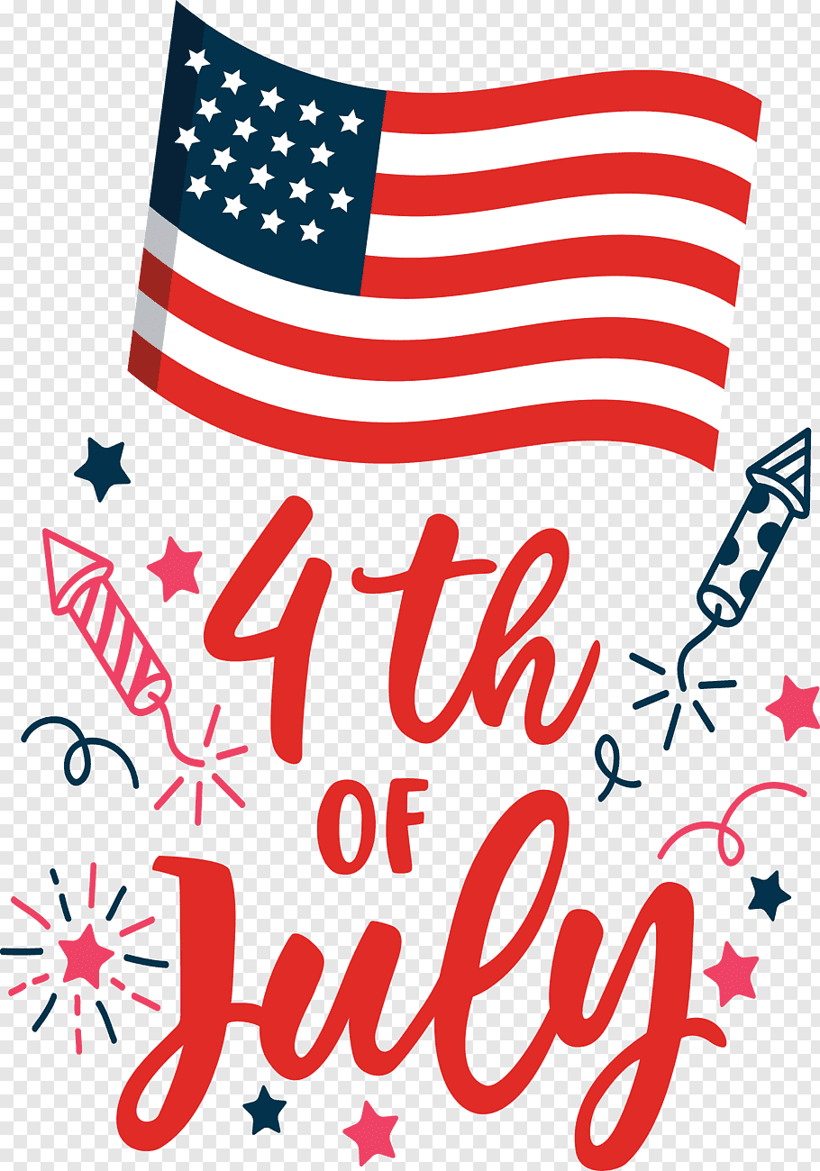 Fourth Of July Us Independence Day, Line, Point, Area, Meter Png Pluspng.com  - Us Independence Day PNG
