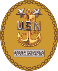 File:Badge Of A U.S. Navy Command Master Chief Petty Officer.png - Us Navy PNG