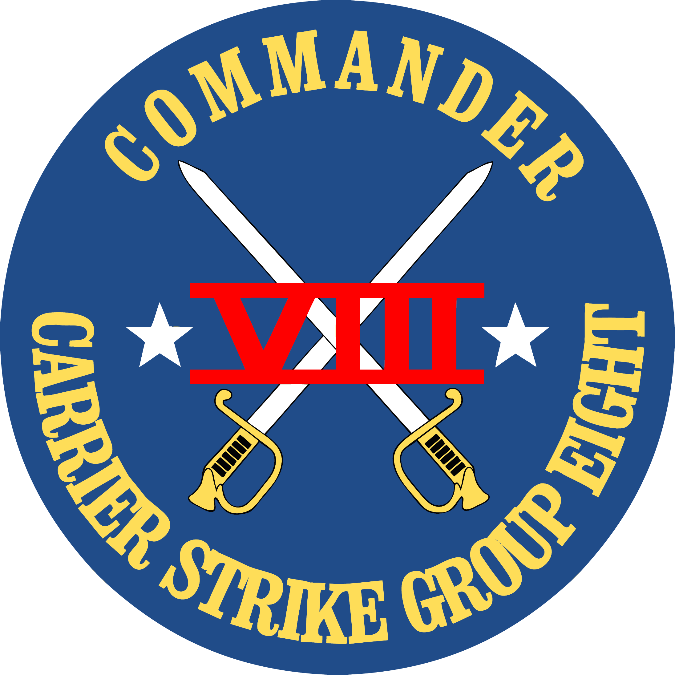 File:Carrier Strike Group 8 (US Navy) Insignia 2016.png - Us Navy PNG