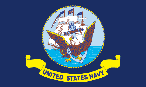 File:Flag Of The United States Navy.png - Us Navy PNG