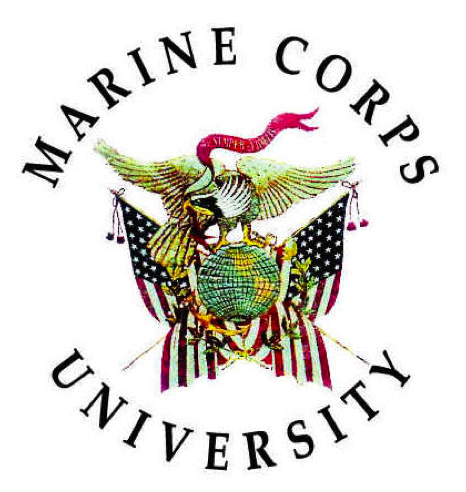 File:Marine corps university.png - Usmc PNG And Graphics