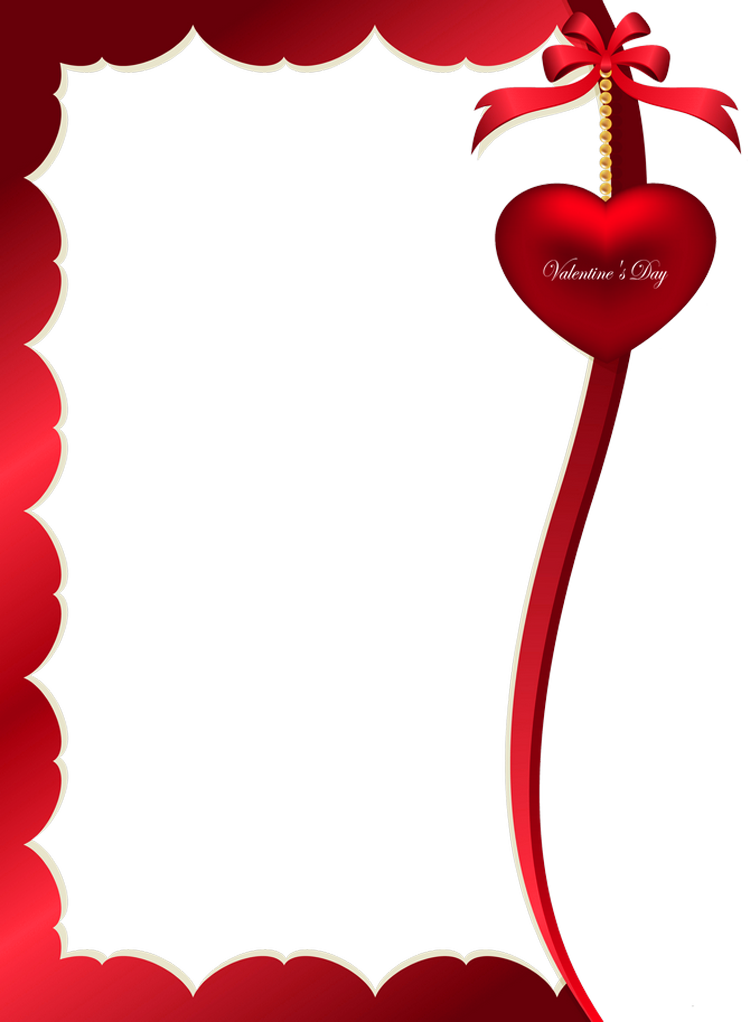 Valentines Day Decorative Ornament for Frame PNG Clipart Picture - Valentine Day HD PNG