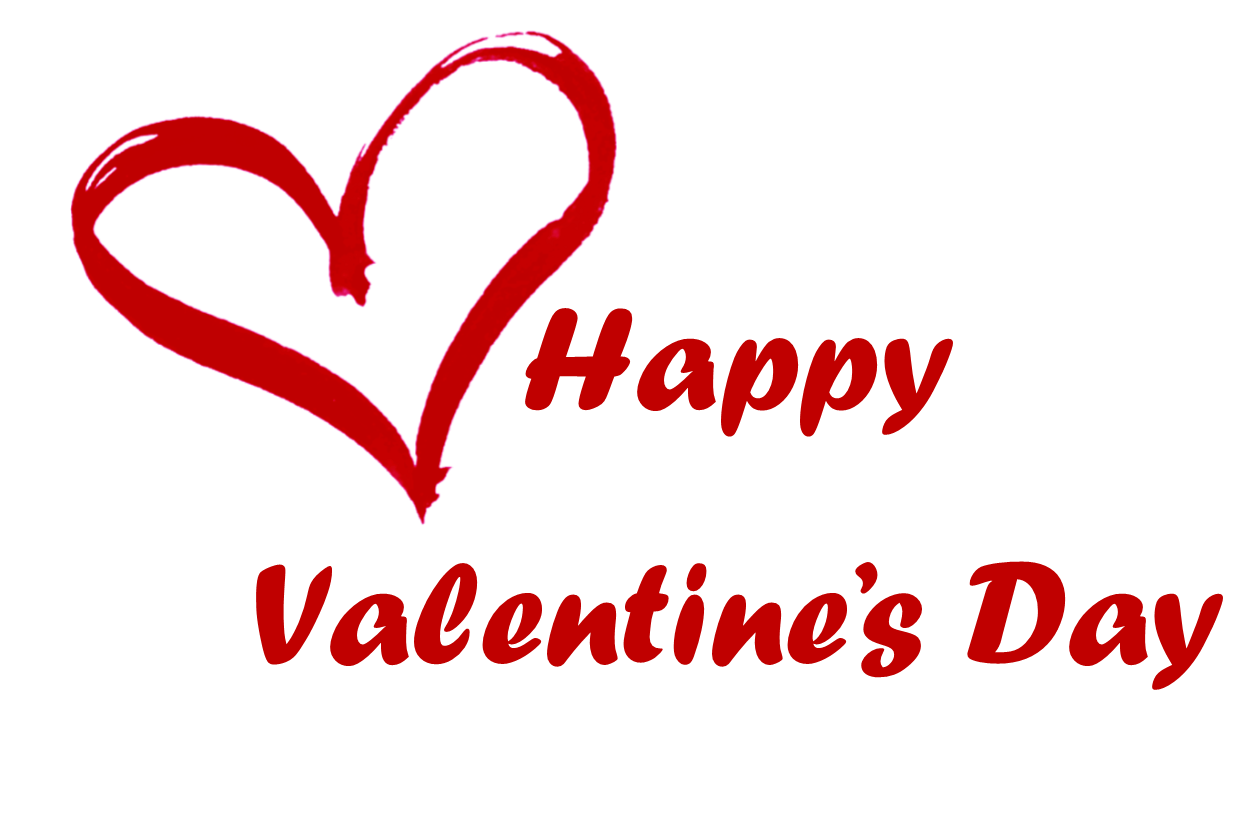 happy valentines day logo - Valentines Day PNG HD