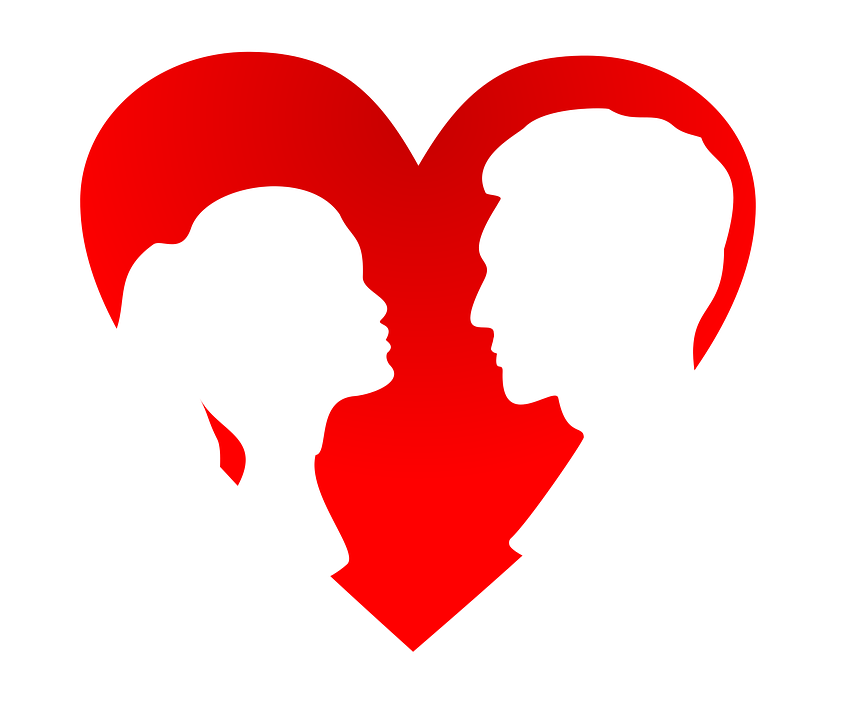 Valentines Day, Vector, Silhouette - Valentines Day PNG HD