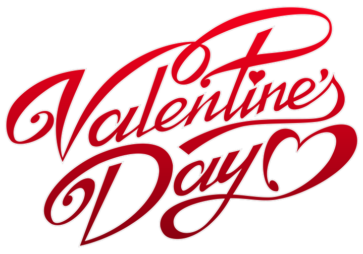 Valentines_Day_Text_Decor_PNG_Clipart - Valentinesday HD PNG