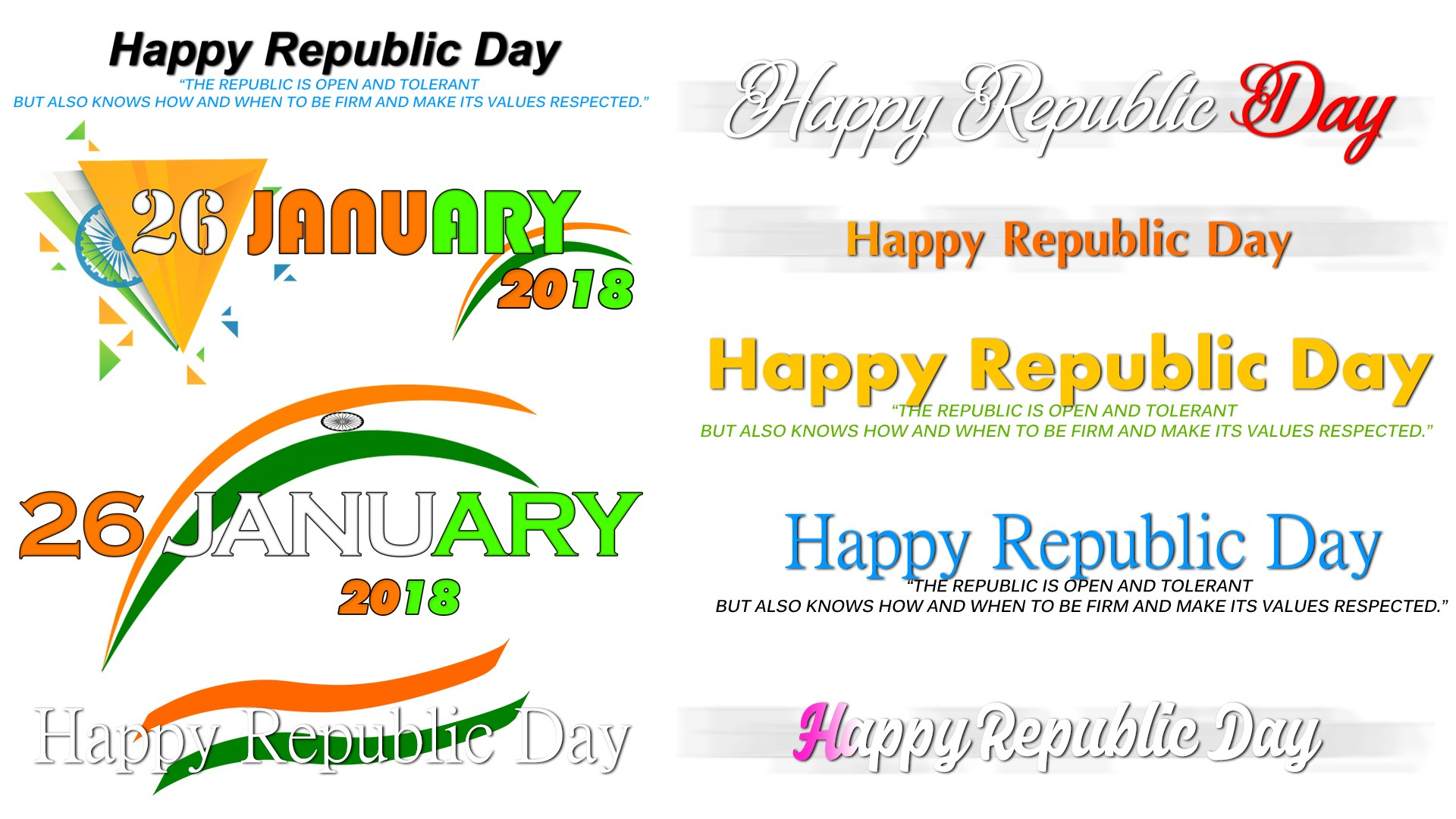 Republic Day Png - Values PNG HD