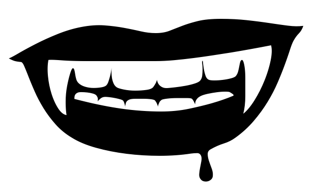Download pngsvgwebpjpg. - Vampire Teeth PNG