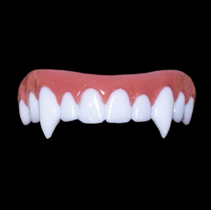 Try: Mostly Dead Nightslayer Vampire Fangs, $25, Vampire Fangs - Vampire Teeth PNG