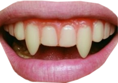vampire teeth PSD - Vampire Teeth PNG