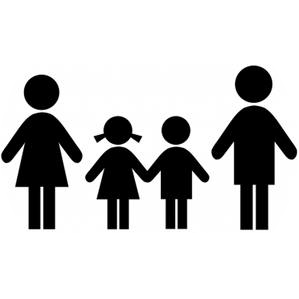 Familie, Vater, Mutter, Kind,