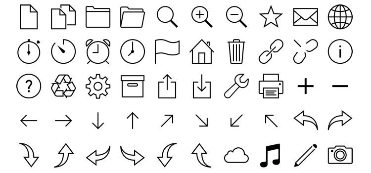 iOS 7 Icons in Vector SVG u0026 PNG Best Free Icon Sets - Vector Icon PNG