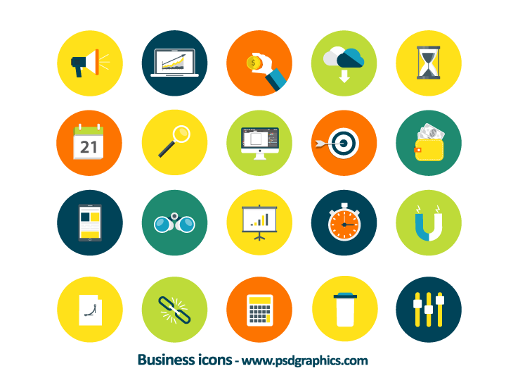 Vector Icons PNG - 105723