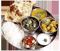 Chefu0027s Recommendations - Veg Thali PNG