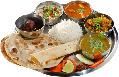 Fine In Dine - Veg Thali PNG