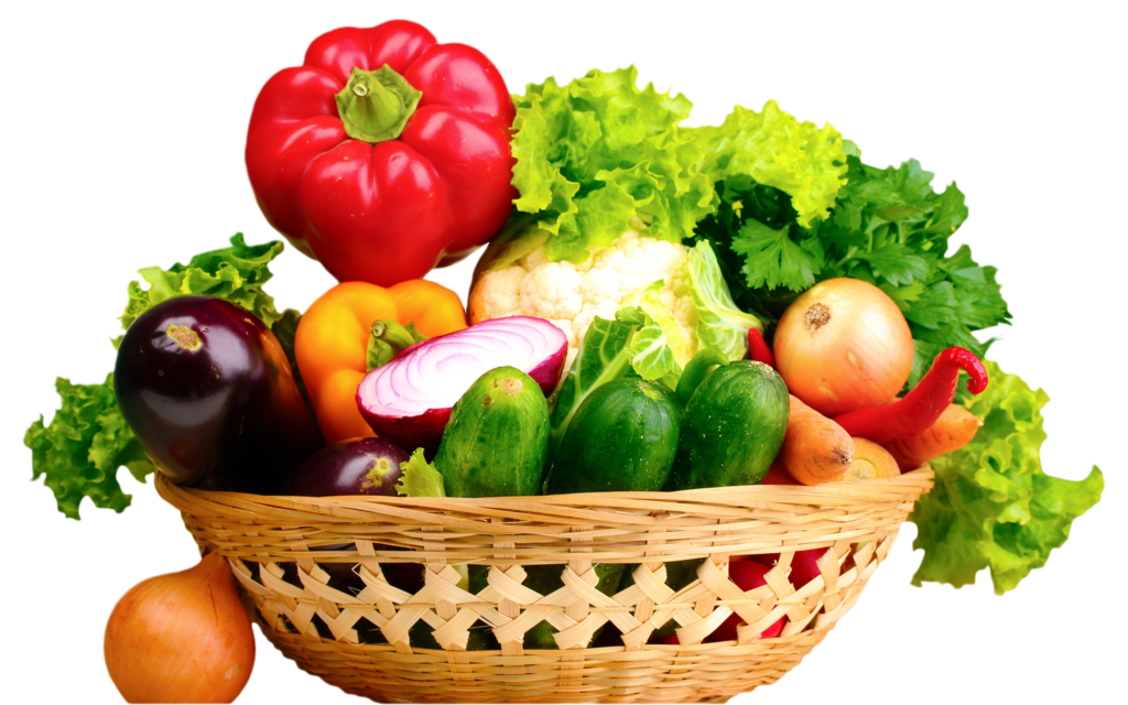 Fresh Vegetables In Basket-25