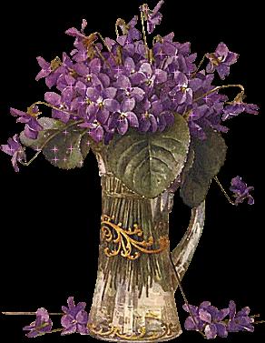 Glanzbilder - Victorian Die Cut - Victorian Scrap - Tube Victorienne -  Glansbilleder - Plaatjes : Veilchen - shiner - violet - Glanzbild -  Victorian Die Cut PlusPng.com  - Veilchen PNG
